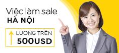 Hà Nội -  Tổng Hợp 8 Việc Làm Tiếng Anh Dành Cho Nhân Viên Kinh Doanh (Sales) - Lương Trên 500 USD