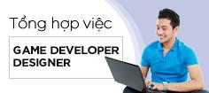 Tuyển dụng game developer - designer